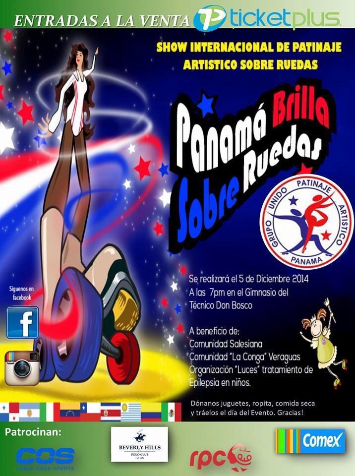 Show internacional de patinaje art stico en panam for Pistas de patinaje sobre ruedas en madrid